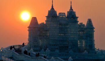 Фестиваль льда и снега в Харбине: феерично и эффектно