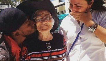 Баба Лена из Красноярска отметила 90-летие в Карибском море на яхте