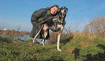 Трехлапый пес спас больную женщину от самоубийства