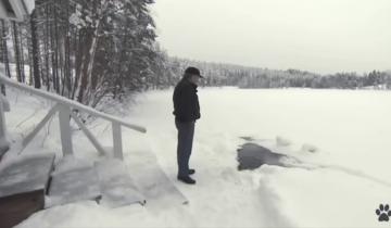 Каждый день к этому мужчине приходит неожиданная гостья… из озера
