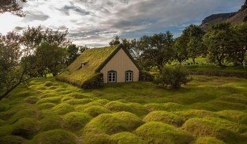 В эти скандинавские домики хочется поселиться. И немедленно!