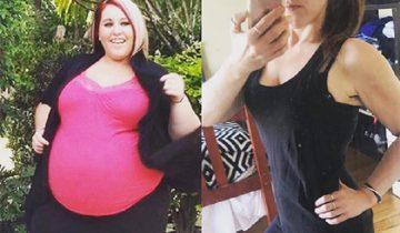 Девушка сбросила почти 100 кг, так как не смогла … покормить ребенка