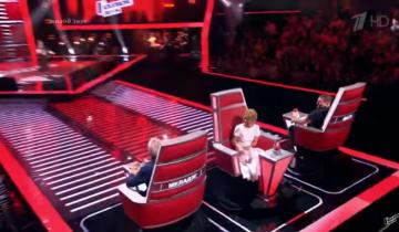 Новая претендентка на победу в «Голосе. Дети» растрогала Басту и Меладзе