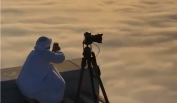 Фантастическое панорамное видео от принца Дубая