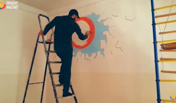 Увидев чужие истории, художник начал бесплатно рисовать в детских садиках