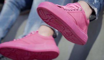 В Амстердаме сделали кроссовки… из жвачки