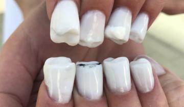 Ногти-зубы — они существуют! Новый тренд?