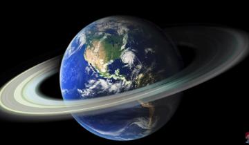 Представим, если бы у Земли были кольца: что было бы?