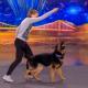 Девочка с псом очаровали публику