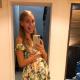 Кристина Асмус показала публике свой «беременный» животик