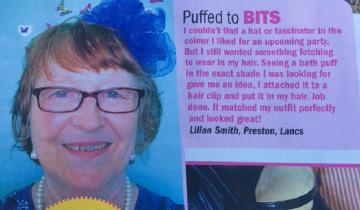 На свадьбу британка украсила голову… мочалкой
