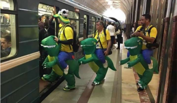 Невероятные снимки, сделанные в метрополитене