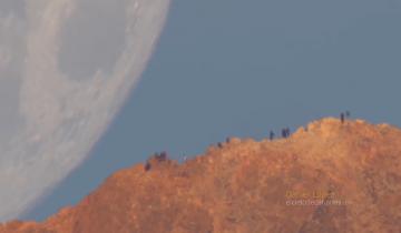 Закат Луны на Канарских островах собрал 1,4 млн. просмотров