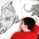 Сербский подросток потрясающе рисует животных