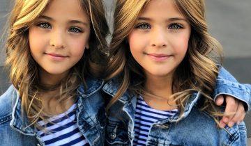 Самые красивые девочки-близняшки в мире