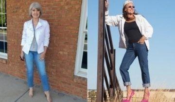 50-летний юбилей — лучший повод надеть джинсы! 3 золотых правила