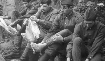 Вот почему в Советской армии портянки были популярнее, чем носки
