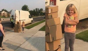 Так рождаются мемы: девочка тайком накупила на Amazon кучу игрушек