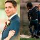 Прямо во время свадебной фотосъемки жених вдруг прыгнул в реку…