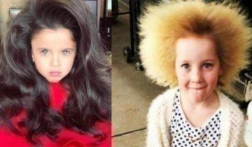Дети, которых матушка-природа наградила уникальными волосами