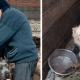 47-летняя женщина живет в вольере вместе со своими собаками