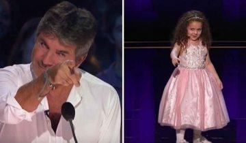 Саймон не верил, что 5-летняя малышка сможет исполнить композицию Синатры, но ошибся