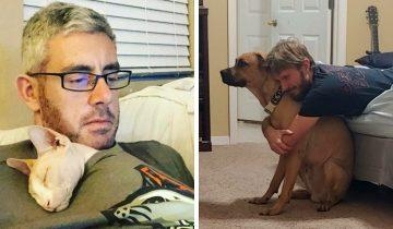 10 мужчин, которые не хотели видеть животных в доме, а теперь любят их больше всего на свете