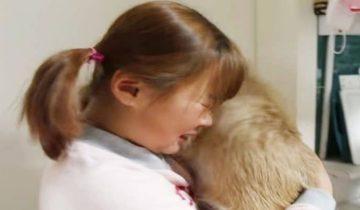 Девочка рыдала, не останавливаясь: только что она своими руками отдала собаку, которую полюбила